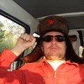 en chemin un communiste russe s'est incrusté