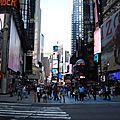 Le jour se lève à new-york...
