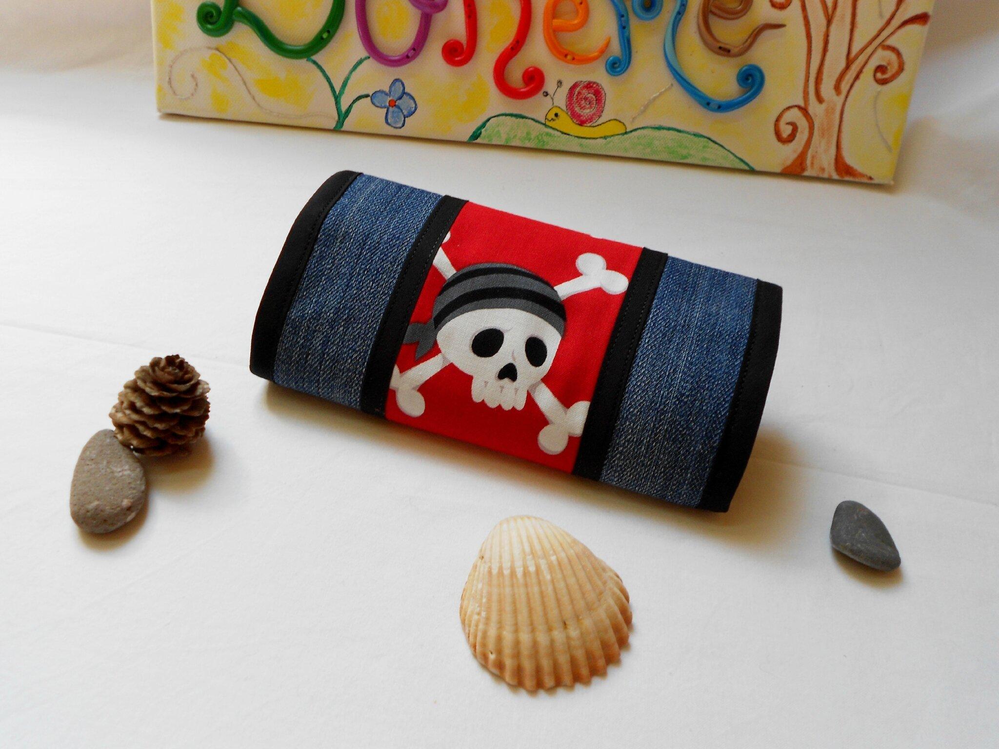 Blague à tabac Jeans Tête de Mort Pirate (2)