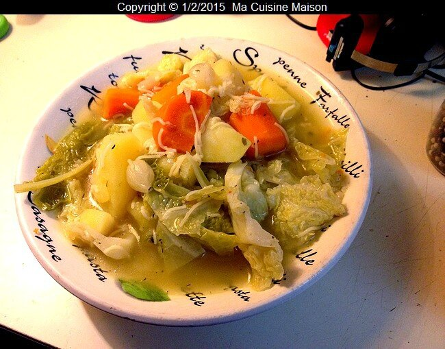 soupe paysanne cookeo 006