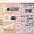 The subways - jeudi 16 avril 2009 - nouveau casino (paris)