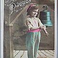 Paques - datée 1909
