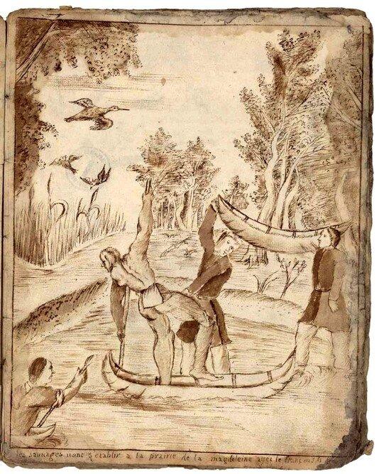 11 - Arrivée des Iroquois à la Prairie