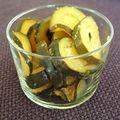 Wok de courgettes au citron