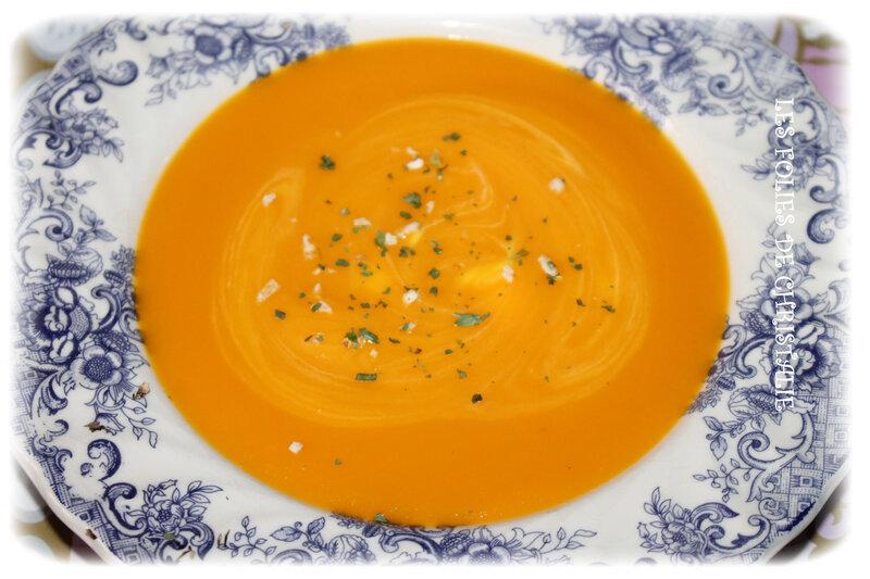 Velouté de carottes 4