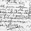 Baptême Marguerite Jeanne Antelme 23.05.1781 Aix St Esprit