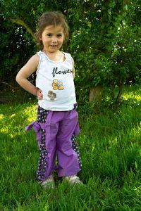 Violette pantalon été-7