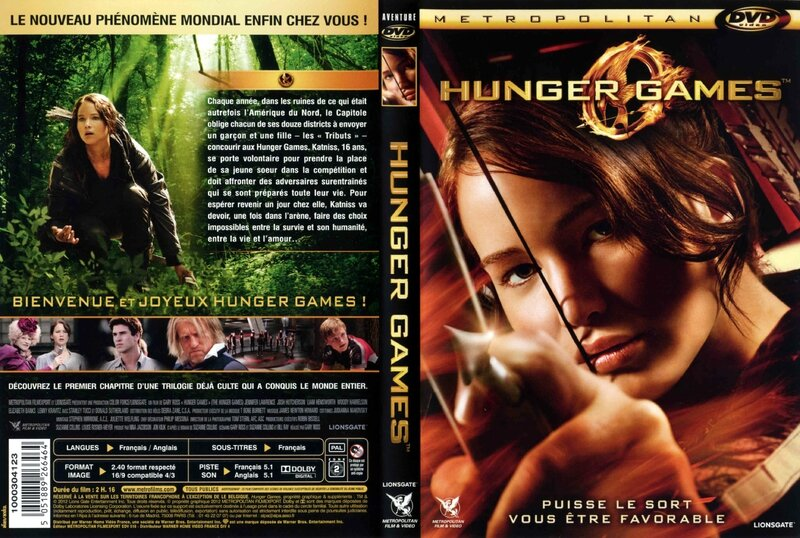 Jaquette HUNGER GAMES (2012)