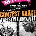 Contest skate & bmx mini rampe