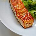 Pavé de saumon grillé - conseil cuisson