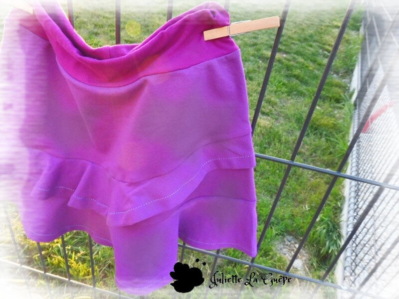 Aura et Nina sweat purple7