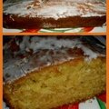 Cake à l'orange et son soupçon de cannelle...