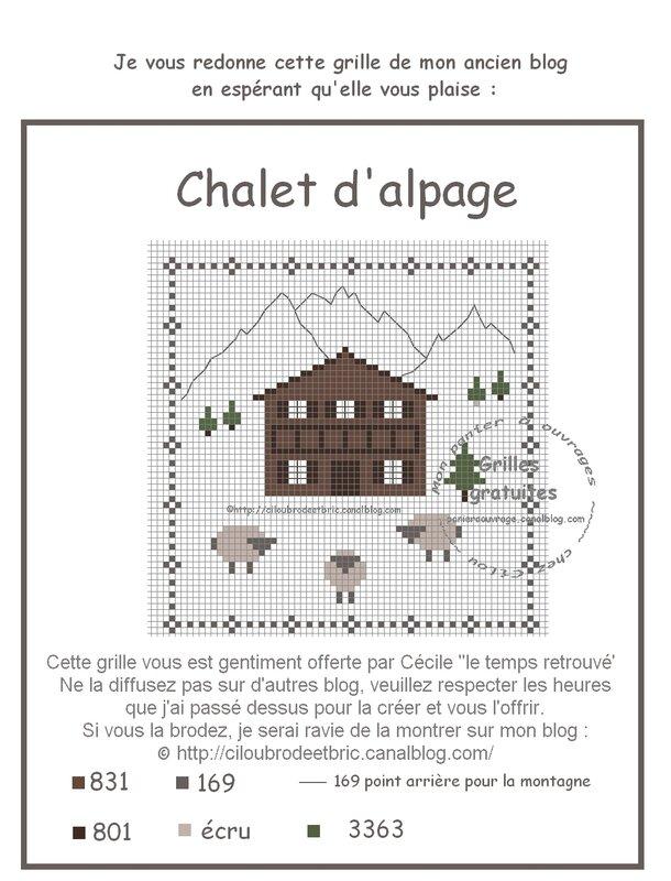 chalet alpages