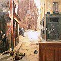 Gilbert, bombardement montagne Ste Geneviève (1889)