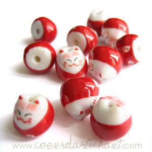 perles maneki neko-www.coeurdartichaut.com