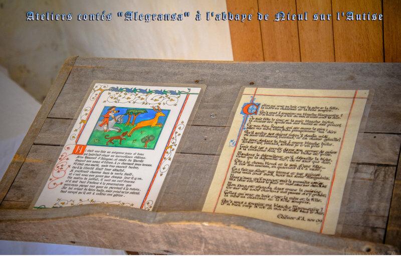 Voyage médiéval en Occitanie et de Bretagne dans l'orangerie d'Aliénor d'Aquitaine à l'Abbaye Nieul (1)