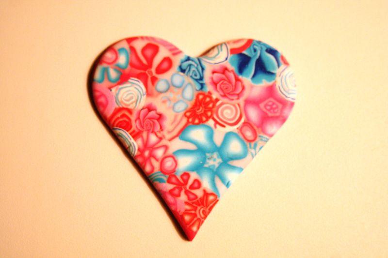 Millefiori Rose et Bleu