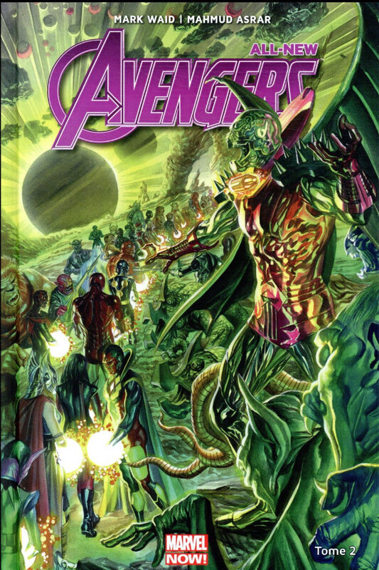 marvel now all new avengers 02 la quête de nova