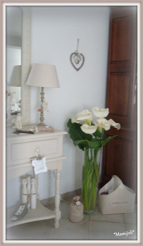 Arums en Vase