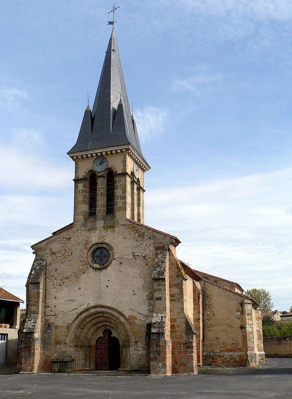 église de Saint-Rémy-de-Chargnat