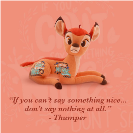 bambi - collection wisdom - disney - citation 1