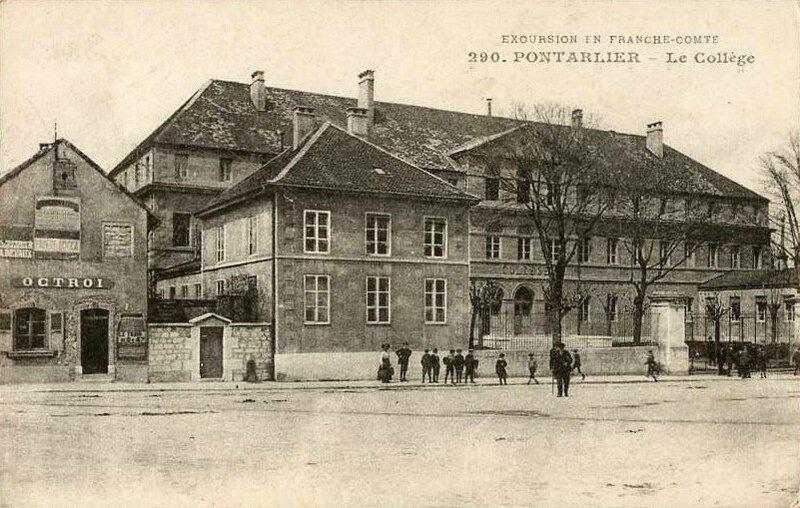 CPA Pontarlier Le collège