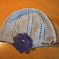 Bonnet au crochet
