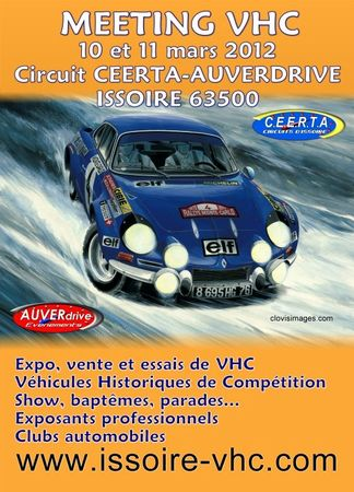 Affiche Meeting 2012