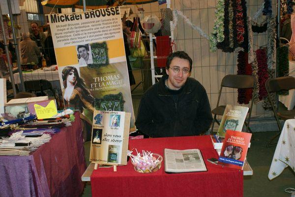 dédicace marché de Noel Chateaubernard 2012