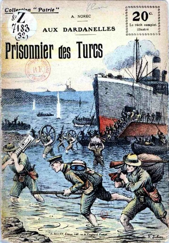 Patrie prisonniers des turcs