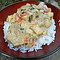 Curry de filet mignon