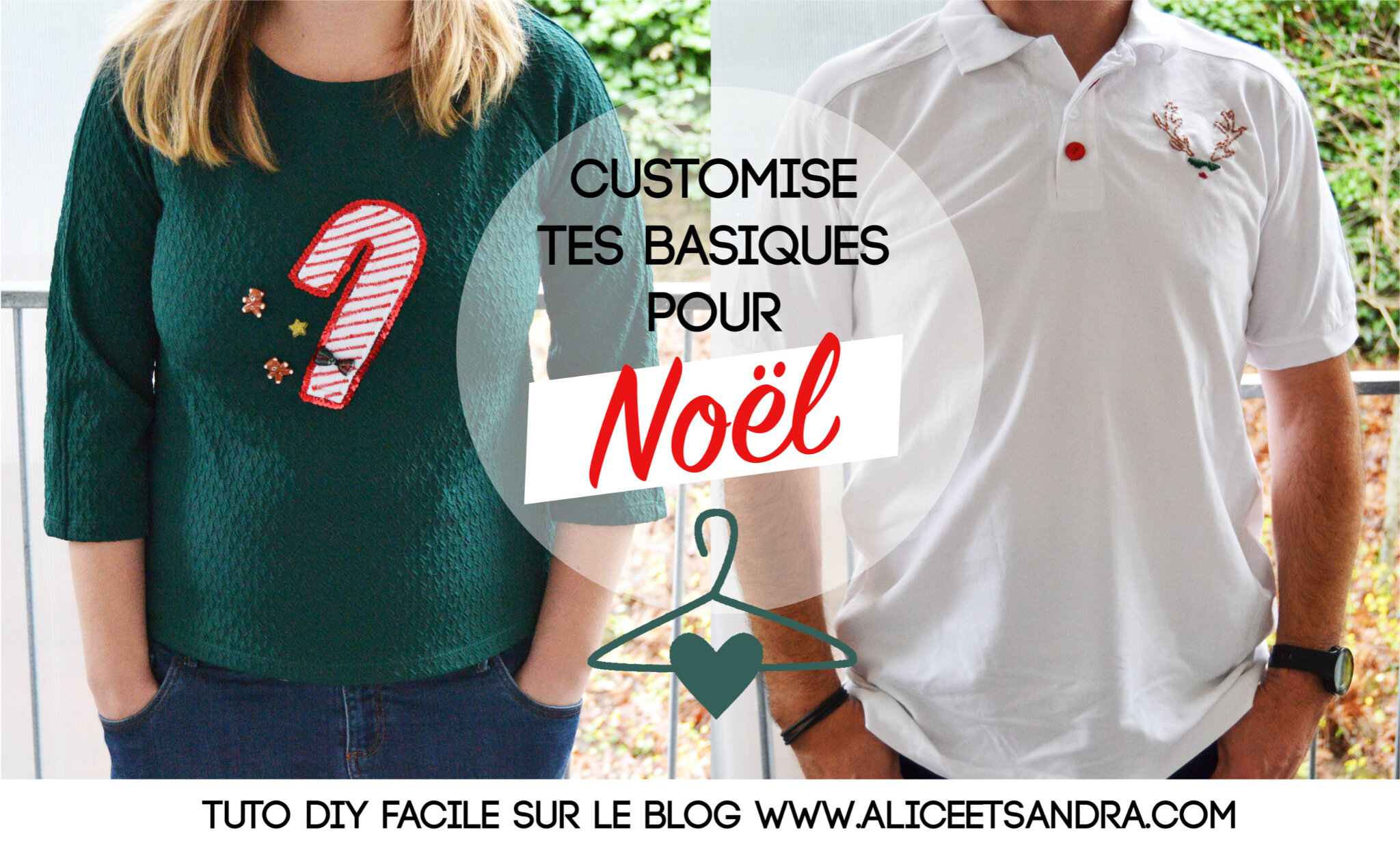 Diy Customise Tes T Shirts Pour Noel Alice Sandra