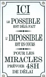 l impossible