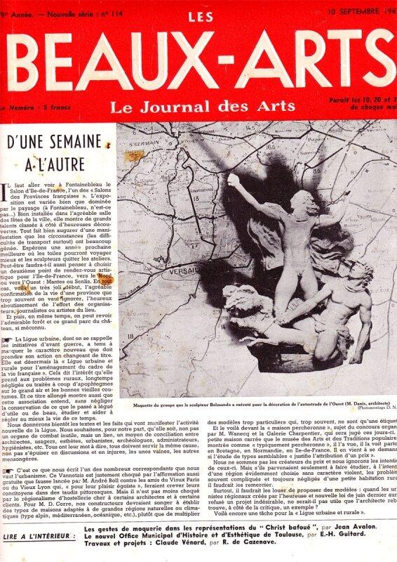 beaux-arts10 septembre 1943