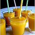 mini-smoothie mangue ananas
