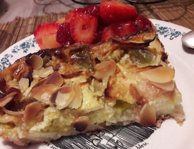 far pommes-prunes au sirop d'orgeat (4)