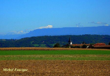 8) Mont-blanc et Mont du Chat