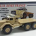 Berliet t 100 pétrolier. club dinky france 2006. #cdf42. 1/50.