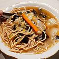 La soupe aux saveurs asiatiques