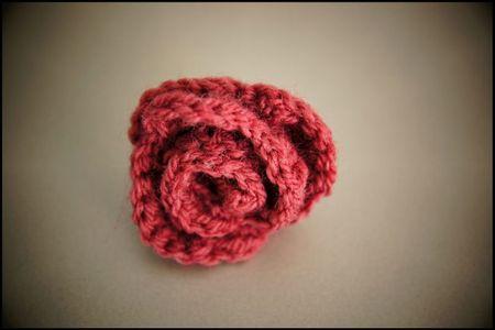 bague rose prune