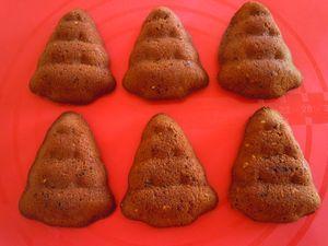 moelleux chocolat spéculoos sapins (7)