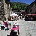 marché artisanal de valloire