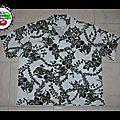 Commande de blaise: chemise homme tissu hawaii