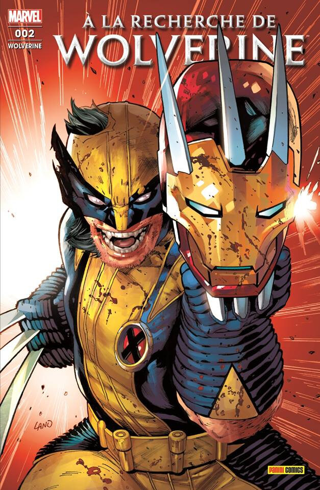 Panini Marvel Fresh Start Wolverine