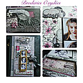 Collection broderies oxydees - album arrêt sur images - sylvie leblanc