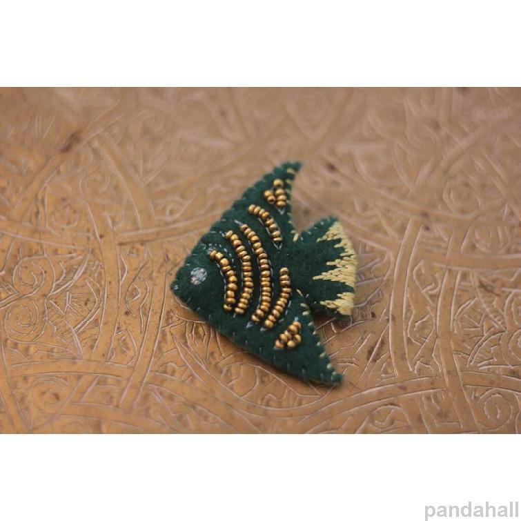 décoration en forme du poisson