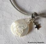 Bracelet Vierge à l'étoile (détail)