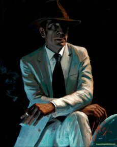 Fabian Perez Night Angel IV