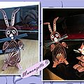 Quilling lapin17