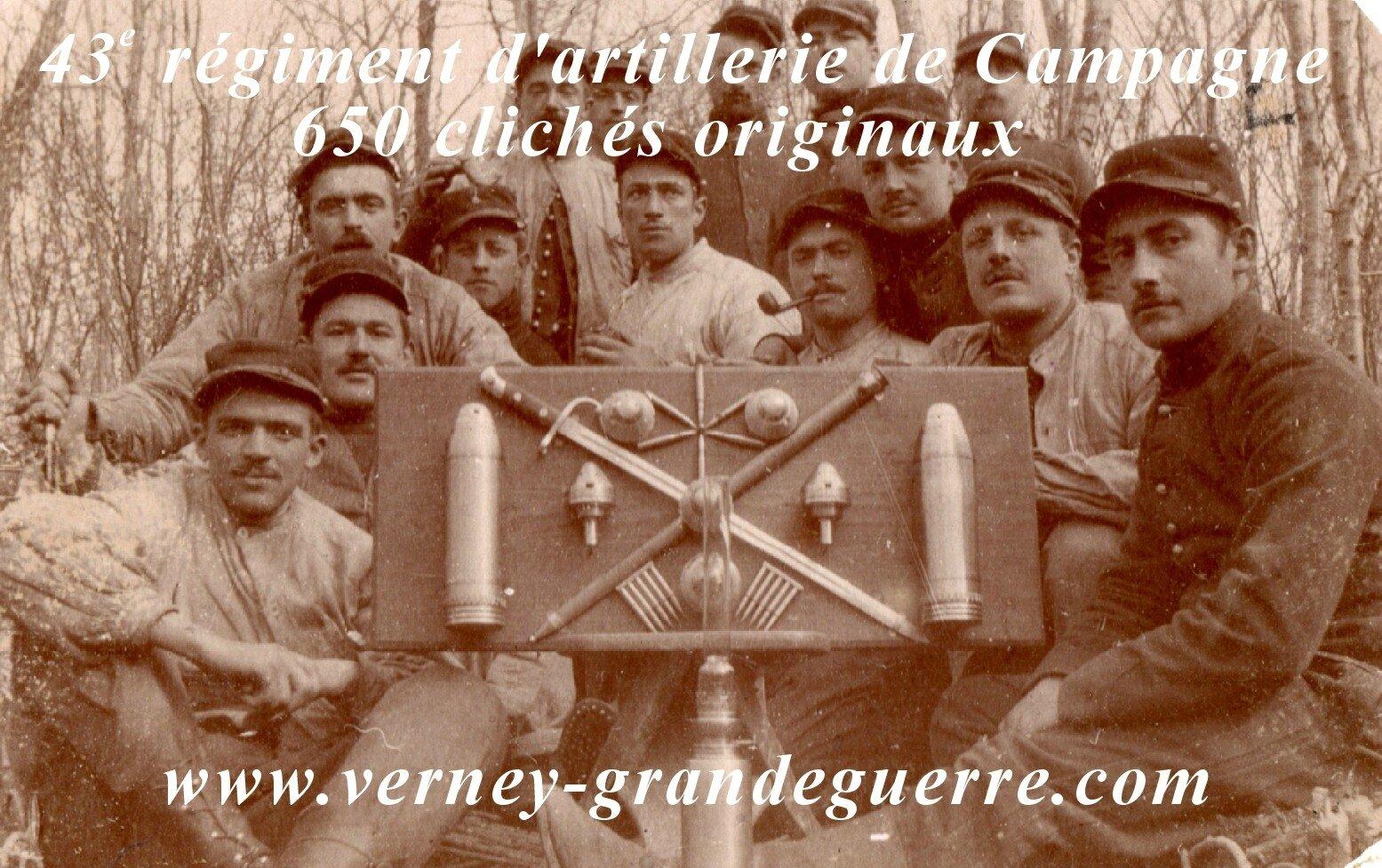 Artillerie 14-18 - photos Verney-grandeguerre
